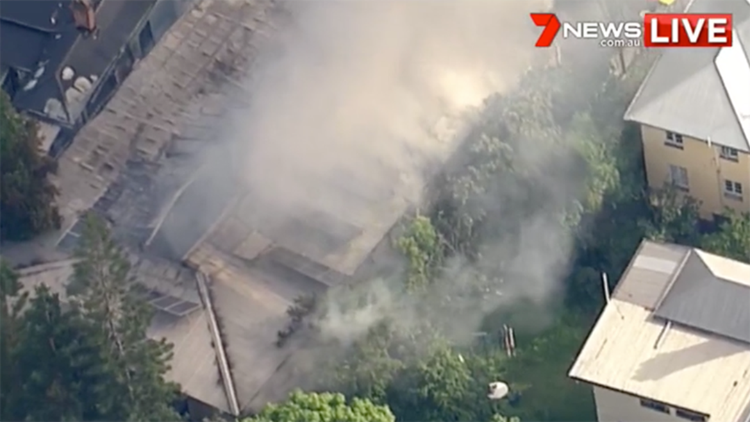 Article heading image for Fire Engulfs Properties In South Brisbane