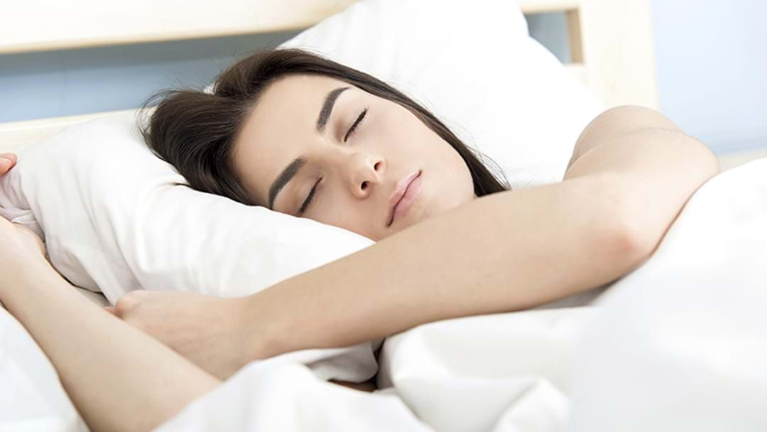 Article heading image for Fall Asleep In 90 Seconds With This Simple Sleep Tip