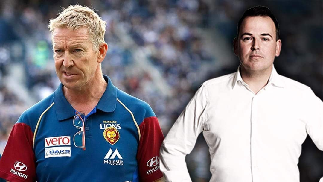 """Article heading image for Tom Browne On The """"Unbackable Favourite"""" For The North Melbourne Coaching Job"""