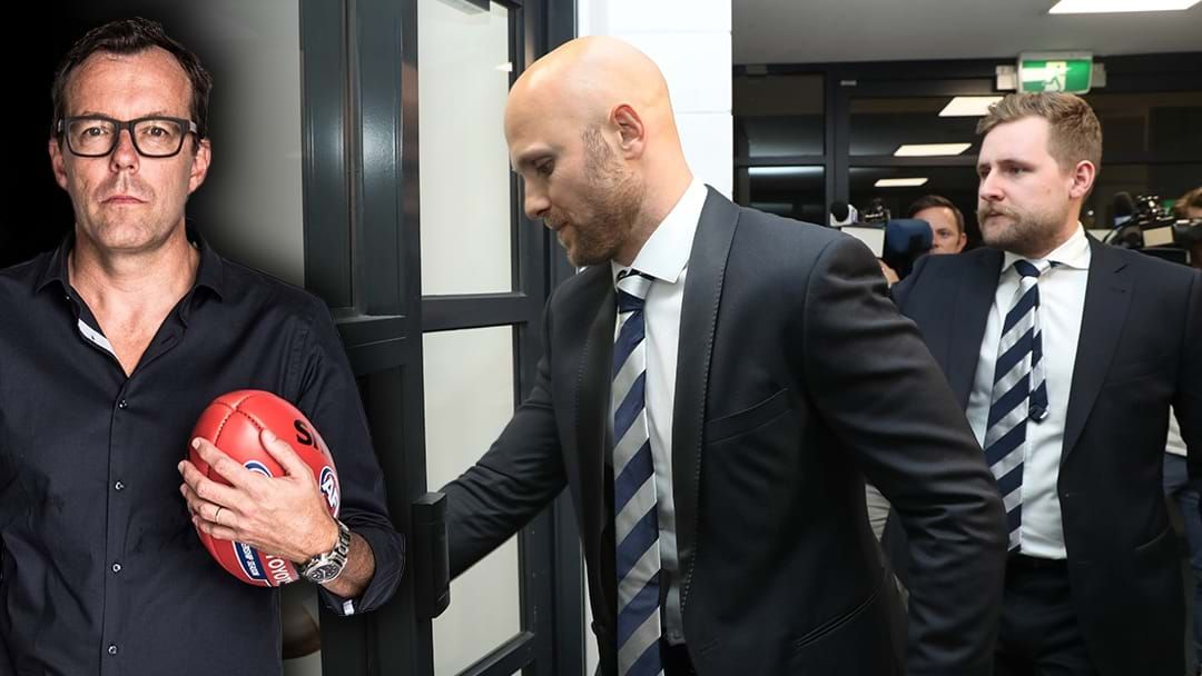 Article heading image for Damian Barrett Believes Gary Ablett Will Be Suspended