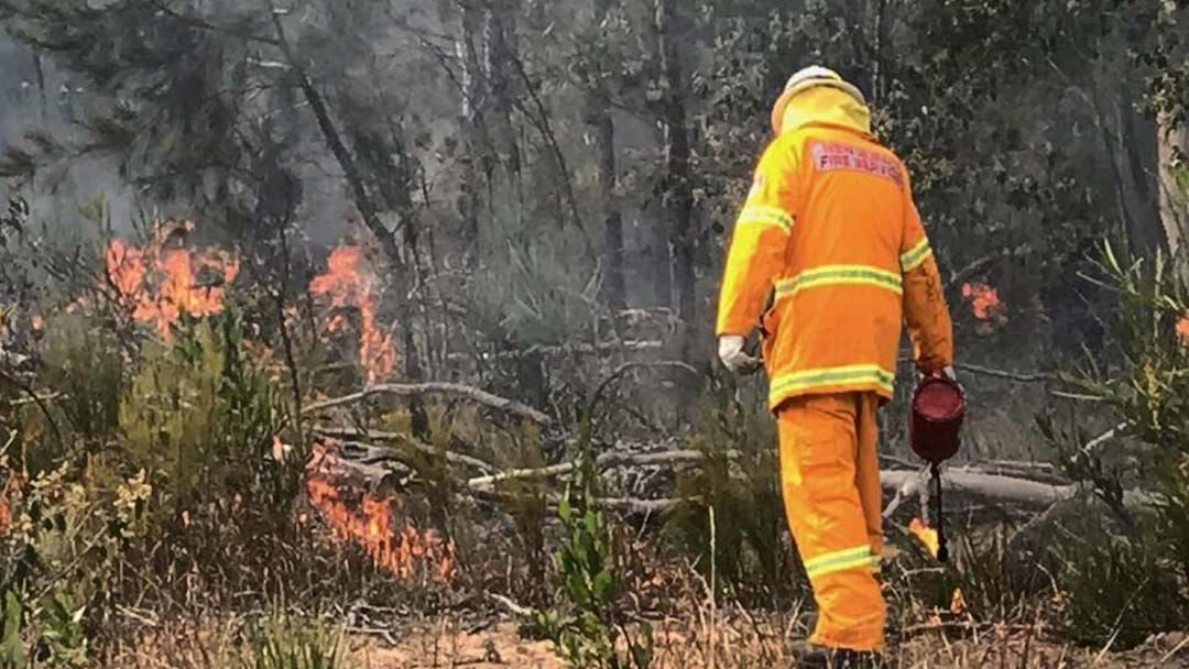Article heading image for A Bushfire has Broken Out in Tolga, North of Atherton.