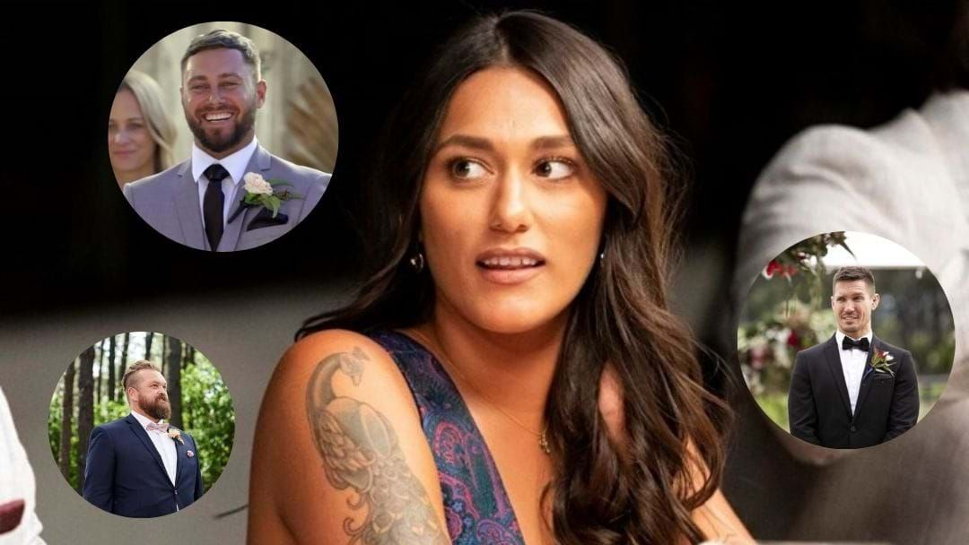 Article heading image for Connie Plays 'Love Marry Boot' With The MAFS Husbands