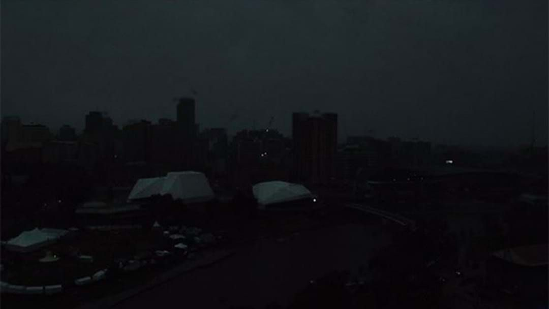 Article heading image for Massive Blackout Just North Of The City