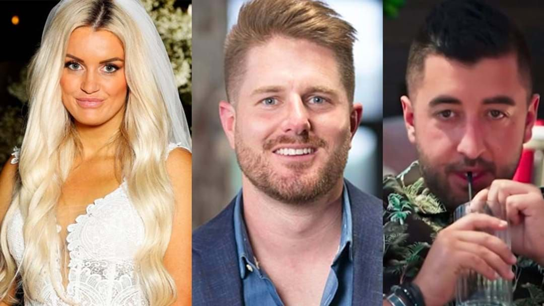 Article heading image for MAFS: Sam Confirms Jason Roses & Bryce Are No Longer Friends After The Secret Girlfriend Leak