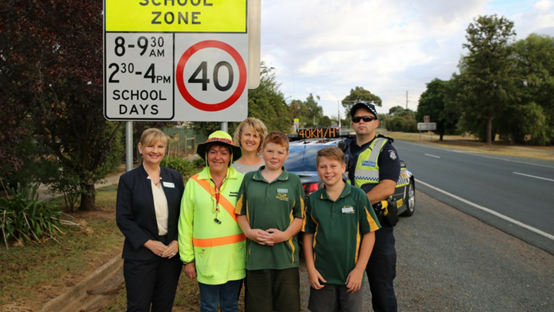 Article heading image for Police Delivering Stern School Zone Reminder