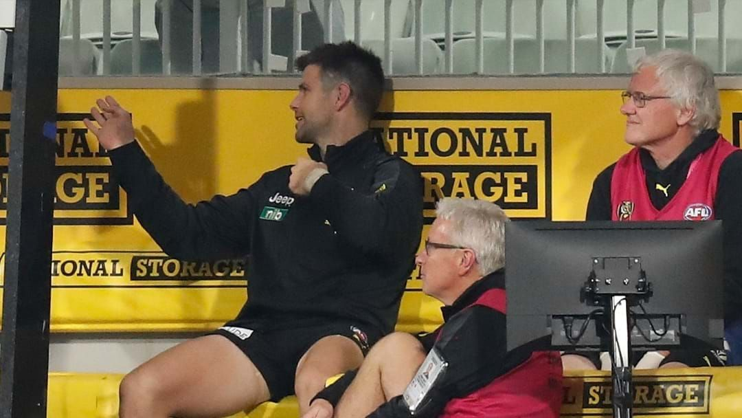 """Article heading image for Tigers Set For """"Some Weeks"""" Without Cotchin Following Hamstring Injury"""