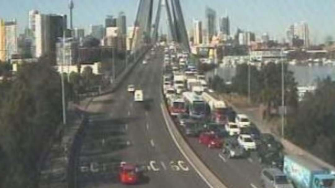 Article heading image for Huge Crash Involving Multiple Cars And A Truck Near The Anzac Bridge