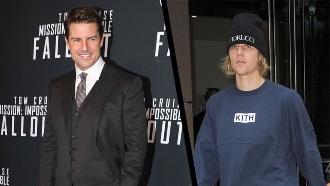 "Article heading image for Justin Bieber Has Challenged Tom Cruise, He Of ""Mission Impossible"" Fame, To ""Fight In The Octagon"""