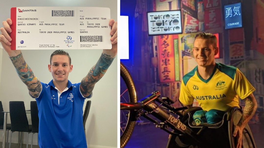 Article heading image for McCracken Cracks into 2020 Paralympics Team