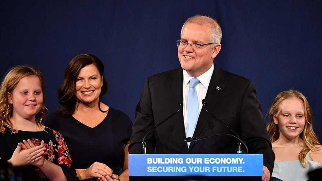 Article heading image for Scott Morrison Claims Victory In 2019 Federal Election