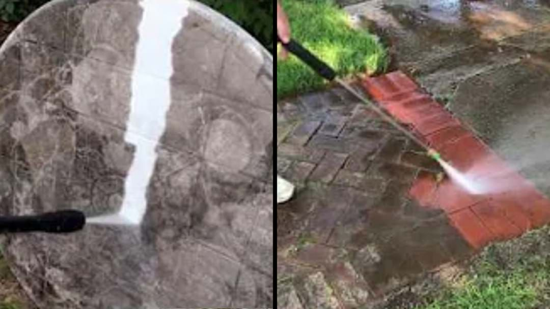 Article heading image for There's A Whole YouTube Channel Dedicated To Power Washing Videos And It's Just *Kisses Fingers*