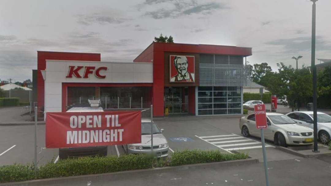 Article heading image for KFC Mayfield Staff Threatened With Knife