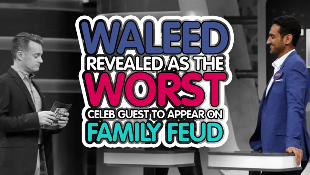 Article heading image for Waleed's 'Family Feud' Redemption, LIVE