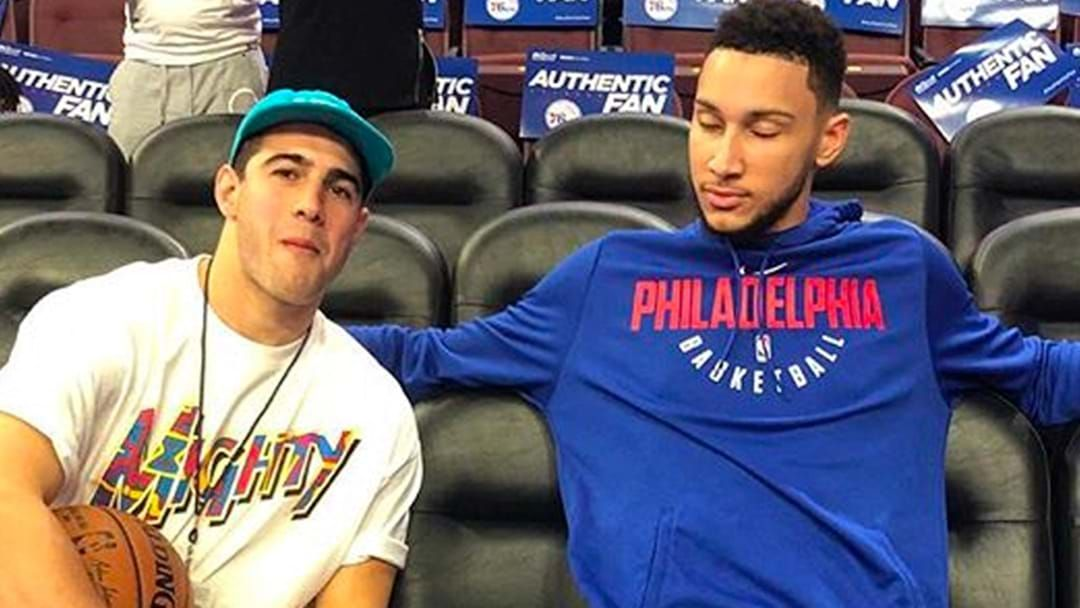 Article heading image for LISTEN   Darce Quizzes Ben Simmons On Whether He's Actually Mates With Christian Petracca