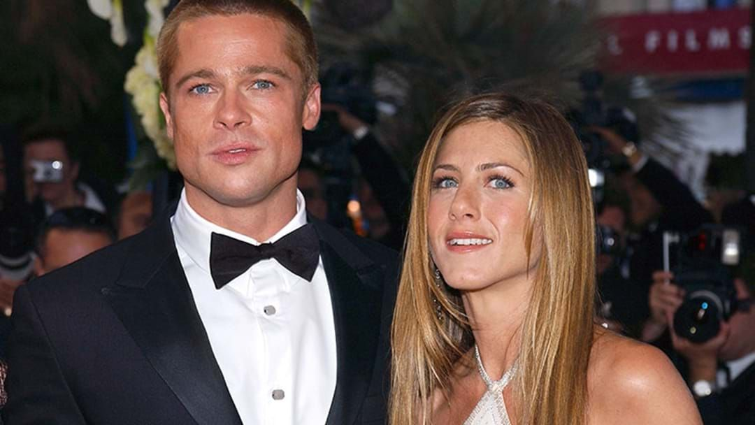Article heading image for Brad Pitt Was Spotted At Jennifer Aniston's Star-Studded 50th Birthday