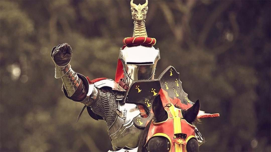 Article heading image for The World Jousting Championship Is Coming To Victoria