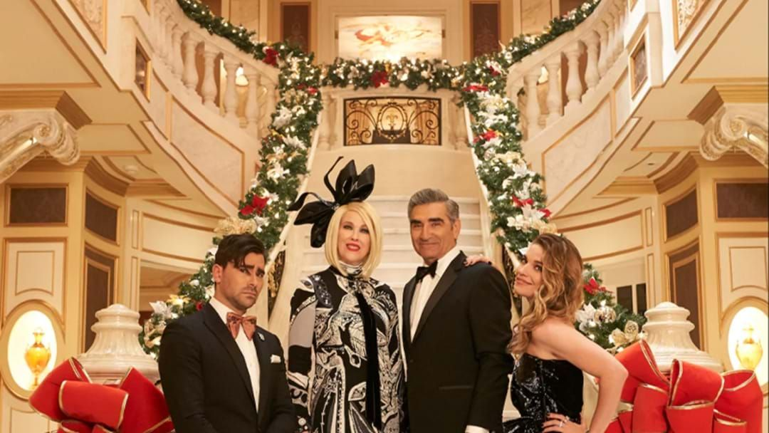 Article heading image for You Can Finally Snoop Around The Schitt's Creek Mansion Now That It's Ironically For Sale At A Discount!
