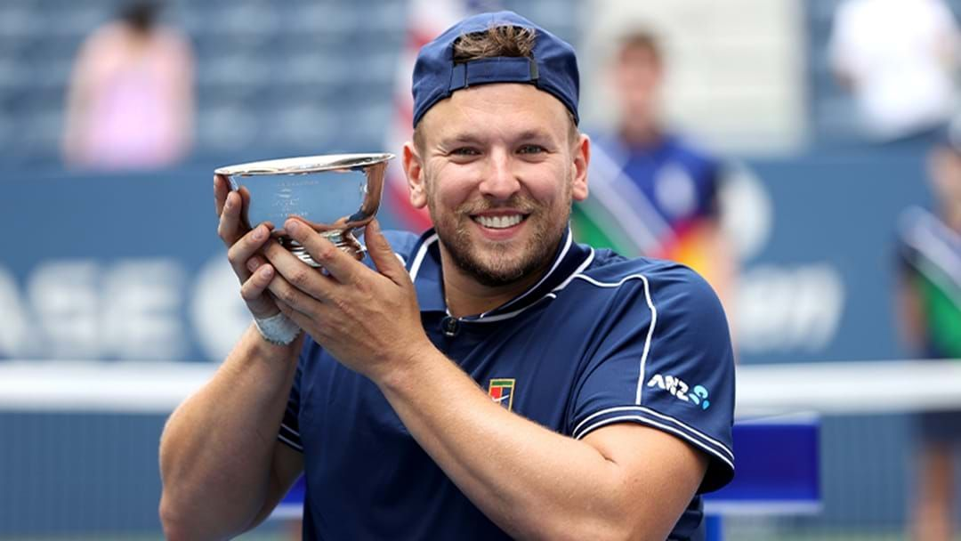 Article heading image for Dylan Alcott Becomes The FIRST EVER Male 'Golden Slam' Champion