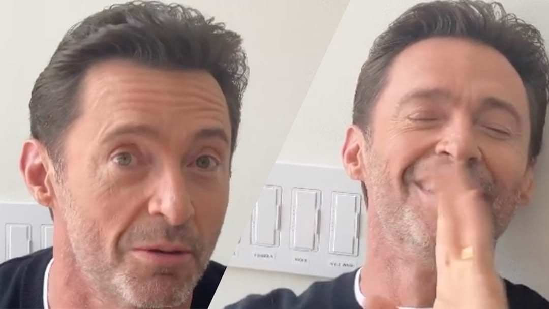 Article heading image for Watch Hugh Jackman Fangirl Over This Whitney Houston Song