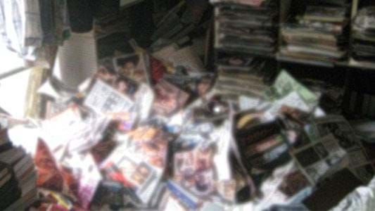 Man Dies After Massive Stack Of Porn Magazines Falls On Him