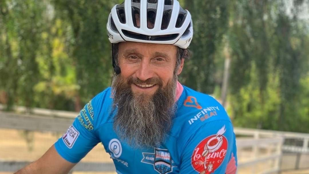 Article heading image for RESPECT | Townsville Man Racing Across America For Mental Health