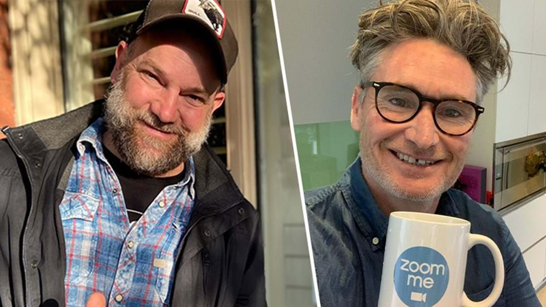 Article heading image for Hughesy Accidentally Reveals Way Too Much On Our New Host Lehmo!