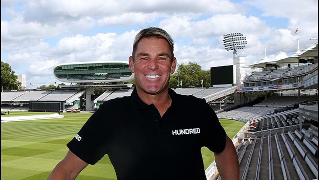 Article heading image for Shane Warne Explains Cricket's Newest Format 'The Hundred'