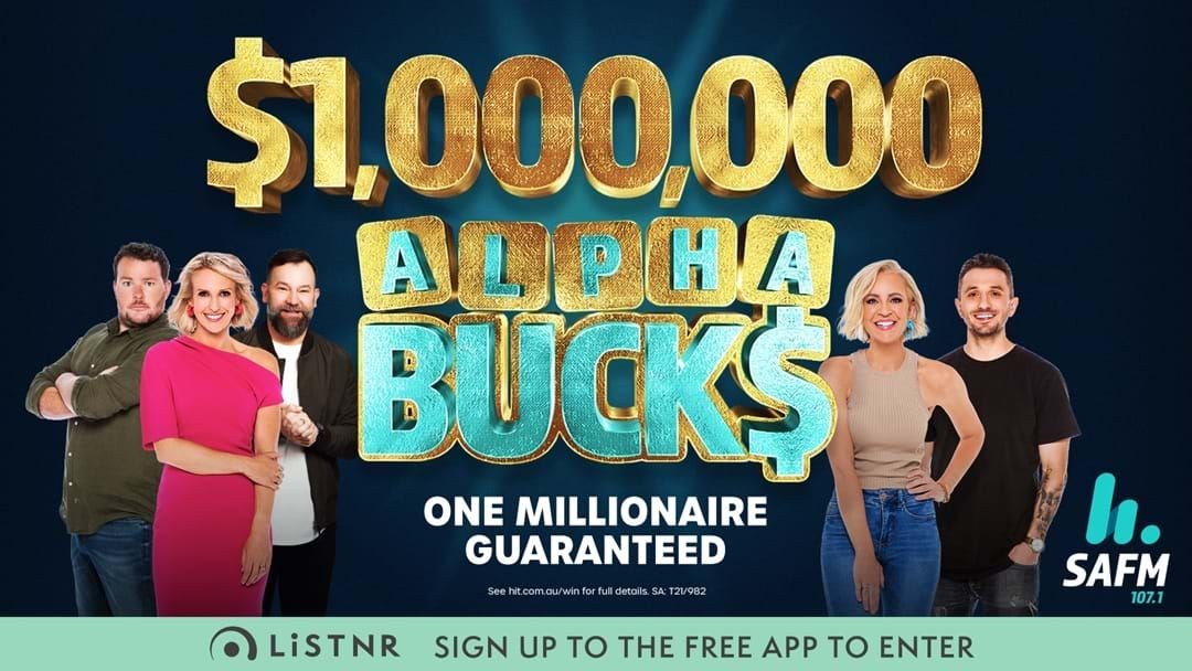 Article heading image for How To Register For SAFM's $1,000,000 Alphabucks