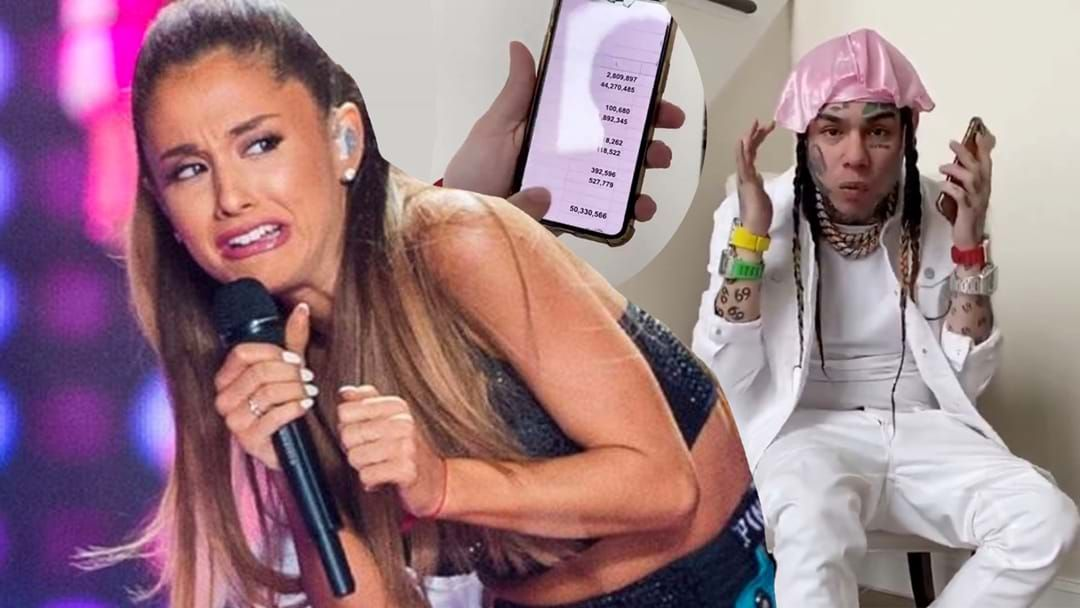 Article heading image for Ariana Grande Has Been Accused Of Paying For Her #1 Chat Spot
