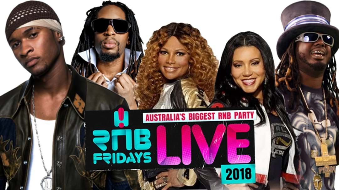 Article heading image for Check Out The EPIC Line-Up For RNB Fridays LIVE 2018!