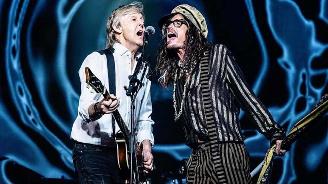 Article heading image for Watch Paul McCartney And Steven Tyler Cover The Beatles Classic