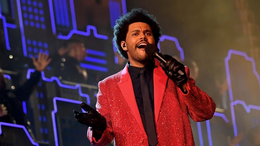 Article heading image for See The Weeknd Smash His Super Bowl Performance Out Of The Park