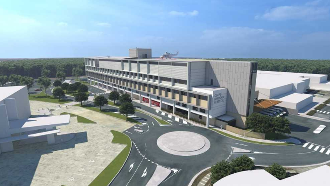 Article heading image for Contractors for Coffs Hospital Upgrade Announced