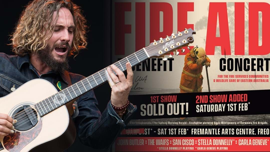 Article heading image for John Butler Shares How The Much Needed Funds From His Big Benefit Gigs Will Be Split