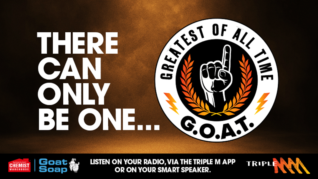 Competition heading image for Triple M's Greatest Of All Time