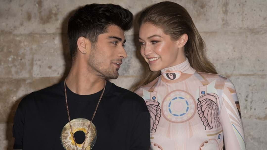 Article heading image for Gigi Confirms She's Back With Zayn With Sneaky Pic