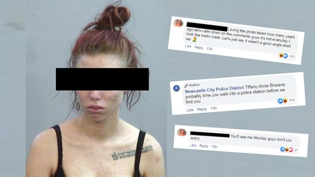 Article heading image for Wanted Woman Complains About Mugshot