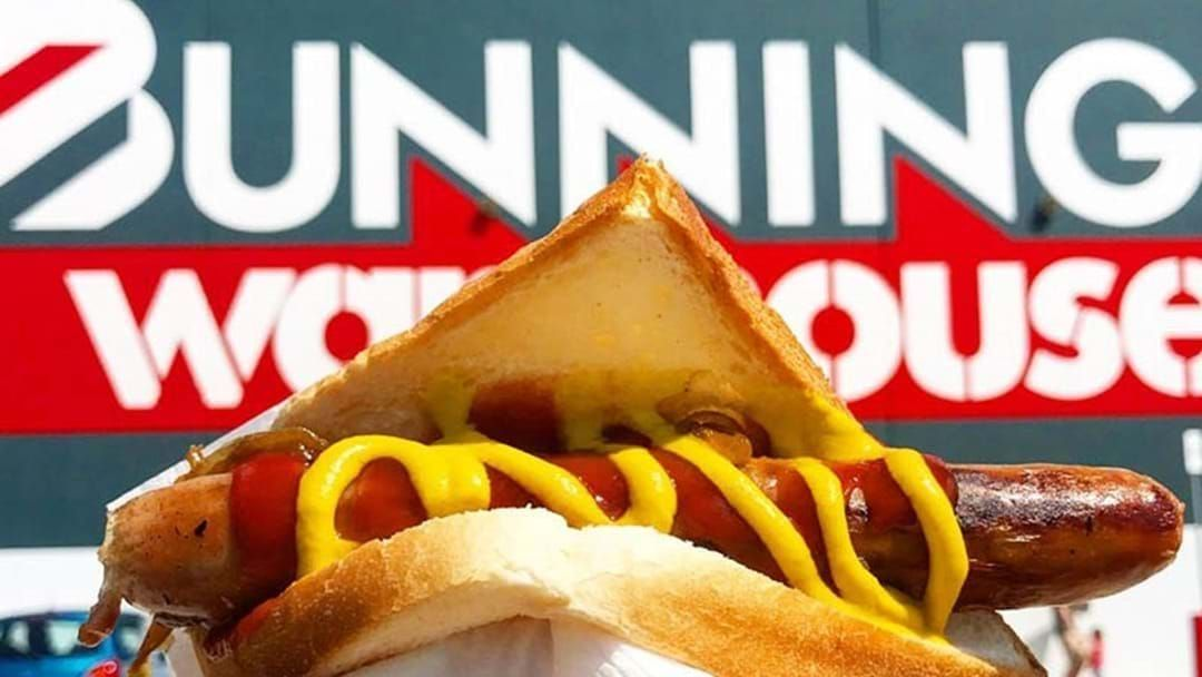 Article heading image for AT LAST: Bunnings Sausage Sizzle To Return At The End Of The Month