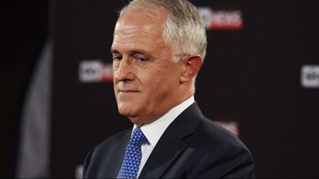 Article heading image for Prime Minister Malcolm Turnbull Doesn't Know The Words To 'You're The Voice'