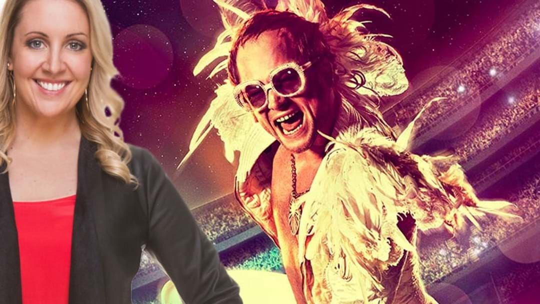 Article heading image for LISTEN: Kymba's Seen Elton John's Rocketman And, Well, Meh!