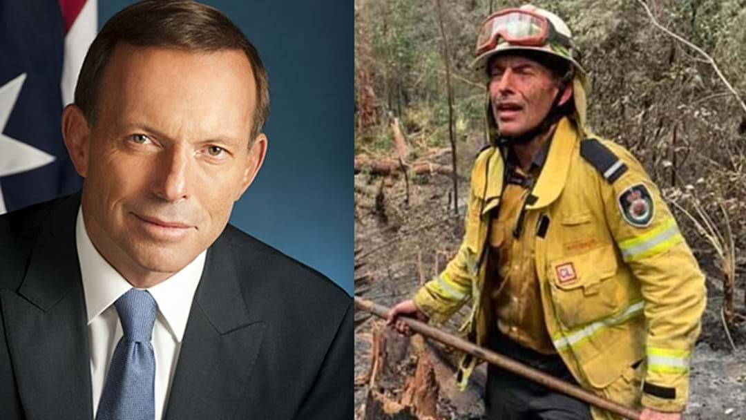 Article heading image for Tony Abbott Saved This Woman's Life After Pulling Her From Burning House Fire!