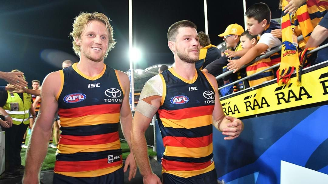 Article heading image for LISTEN | Rory Sloane Explains Why Bryce Gibbs Can't Get A Game