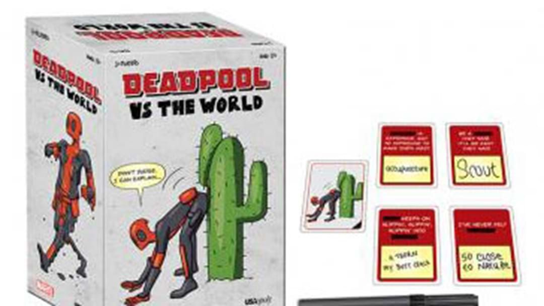 Article heading image for Now Deadpool Is Getting The Cards Against Humanity Treatment