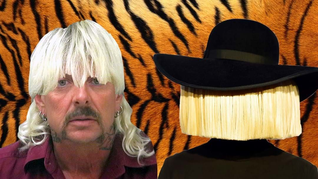 Article heading image for Sia Has Dropped A Song About Tiger King Joe Exotic