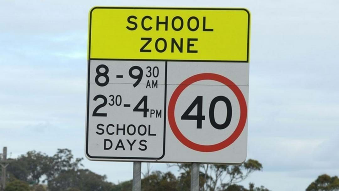 Article heading image for Drivers urged to slow down in 40km school zones
