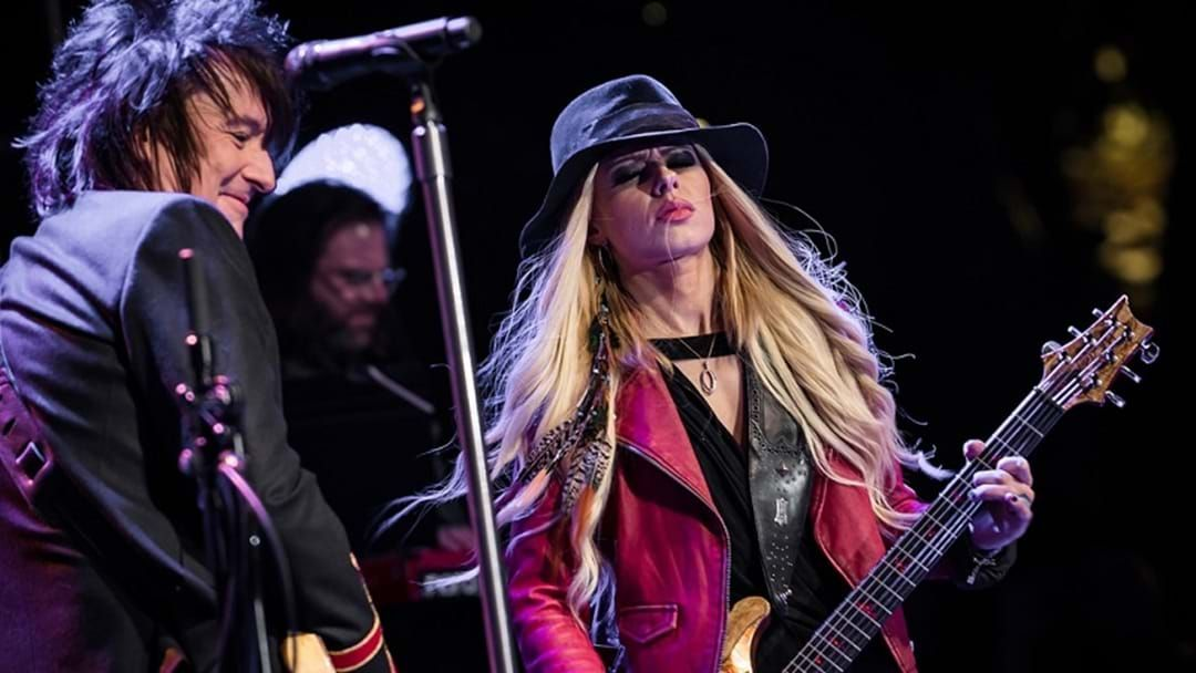 Article heading image for Richie Sambora and Orianthi cancel Gold Coast gig