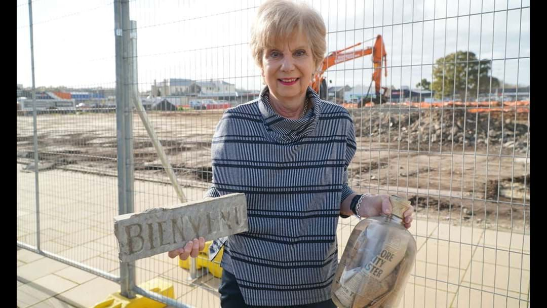 Article heading image for Former Target site time capsule to be opened