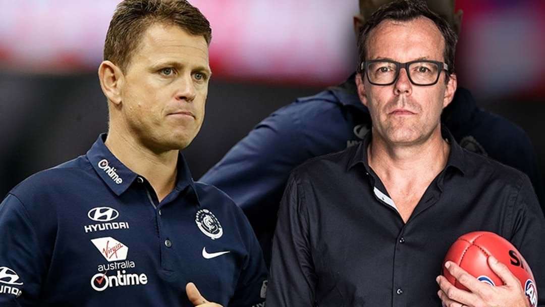 Article heading image for LISTEN | Damian Barrett's Verdict On Brendon Bolton's Future At Carlton