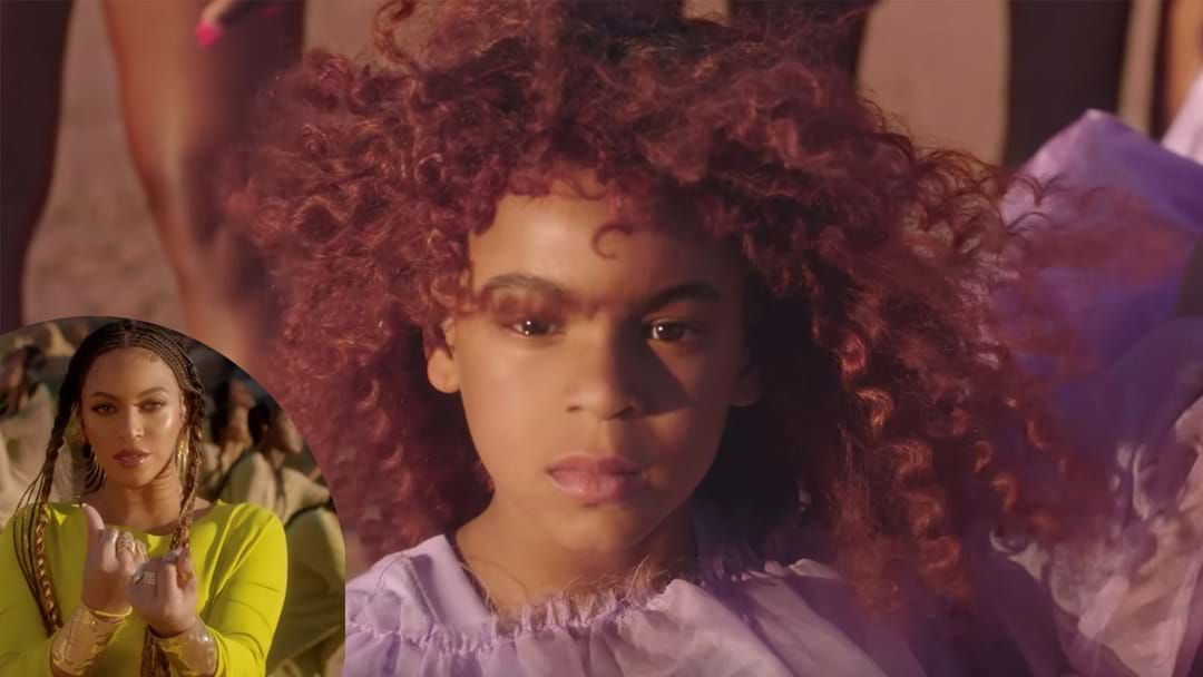 Article heading image for Blue Ivy Is All Grown Up In Beyonce's Spirit Film Clip