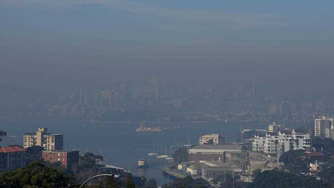 Article heading image for Smoke Blanketing Sydney Labelled 'Hazardous'